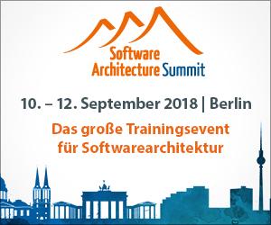 Jetzt Teilnahme an dem Software Architecture Summit sichern!